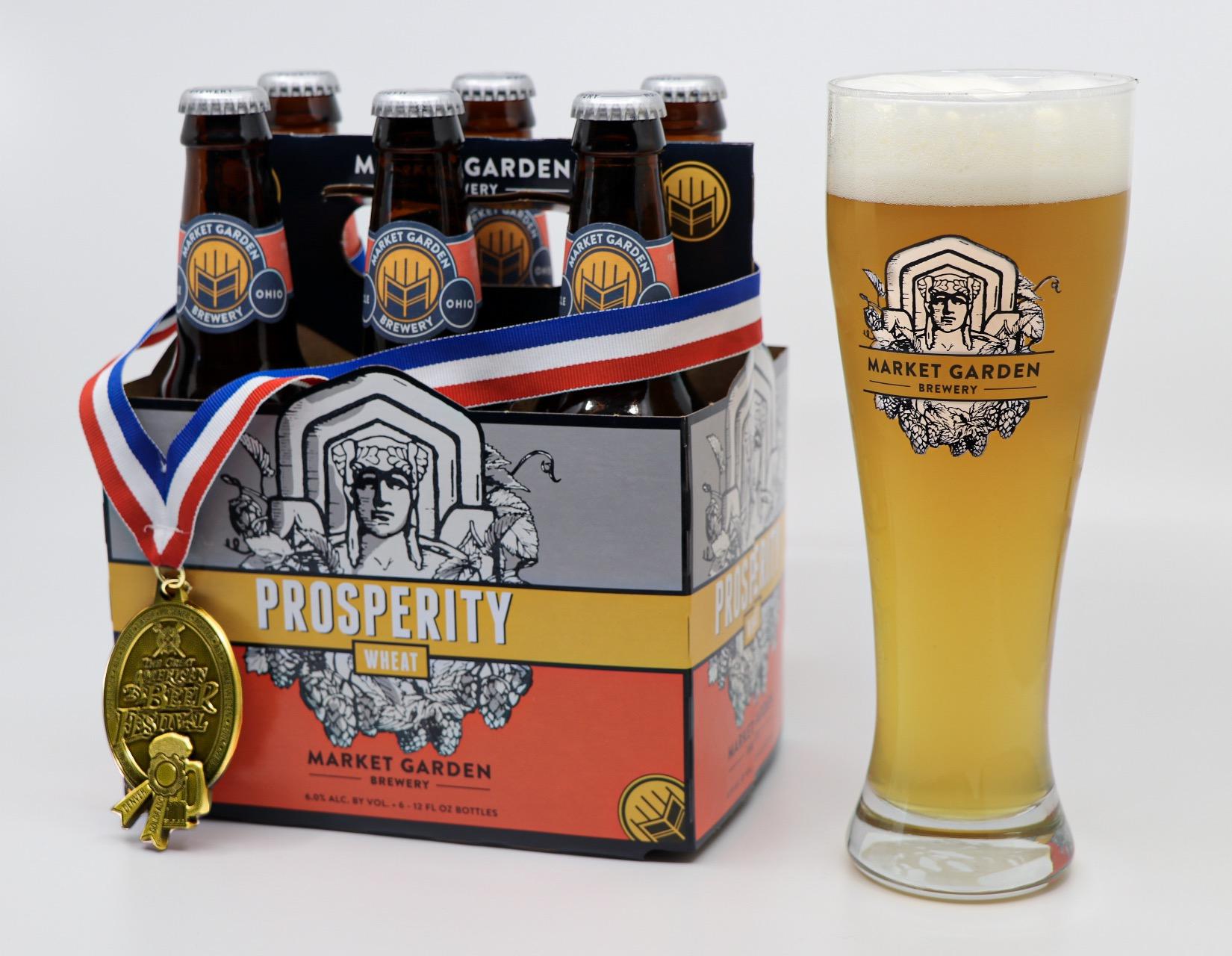 Market Garden Brewery Prosperity Wheat