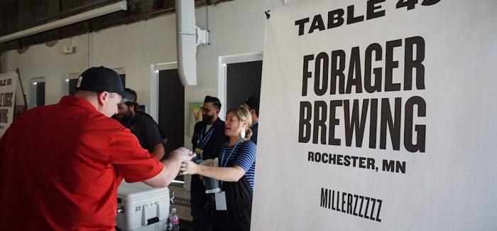 Forager Brewing Millerzzzzz Denver Rare Beer Tasting