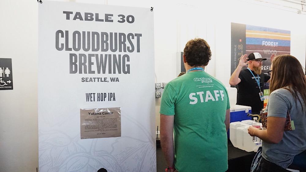 Cloudburst Brewing Yakima Caviar Denver Rare Beer Tasting