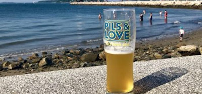 Oxbow Brewing Company | Pils & Love Collaboration Lager
