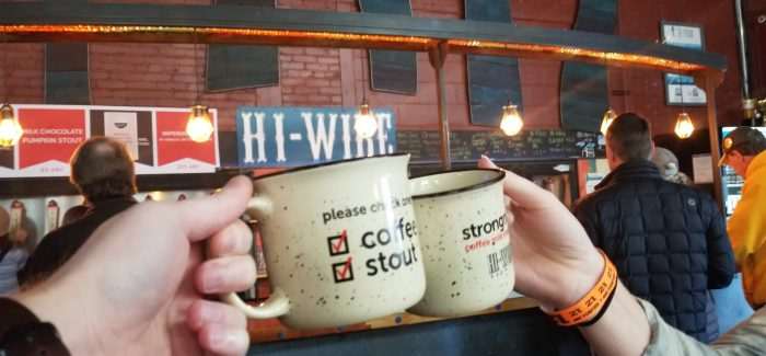 Hi-Wire Brewing's Stout Bout