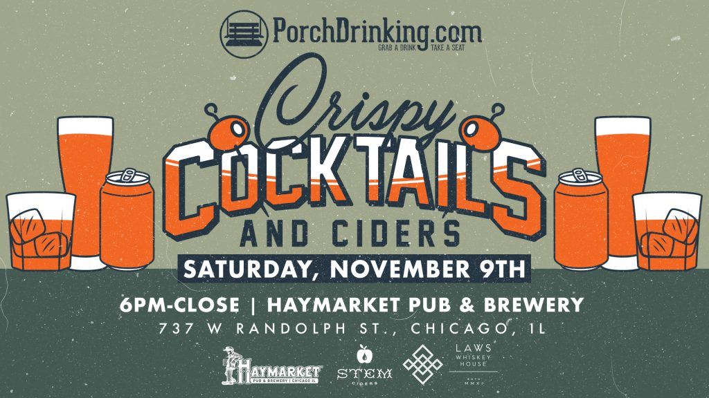 Crispy Cocktails & Ciders FoBAB