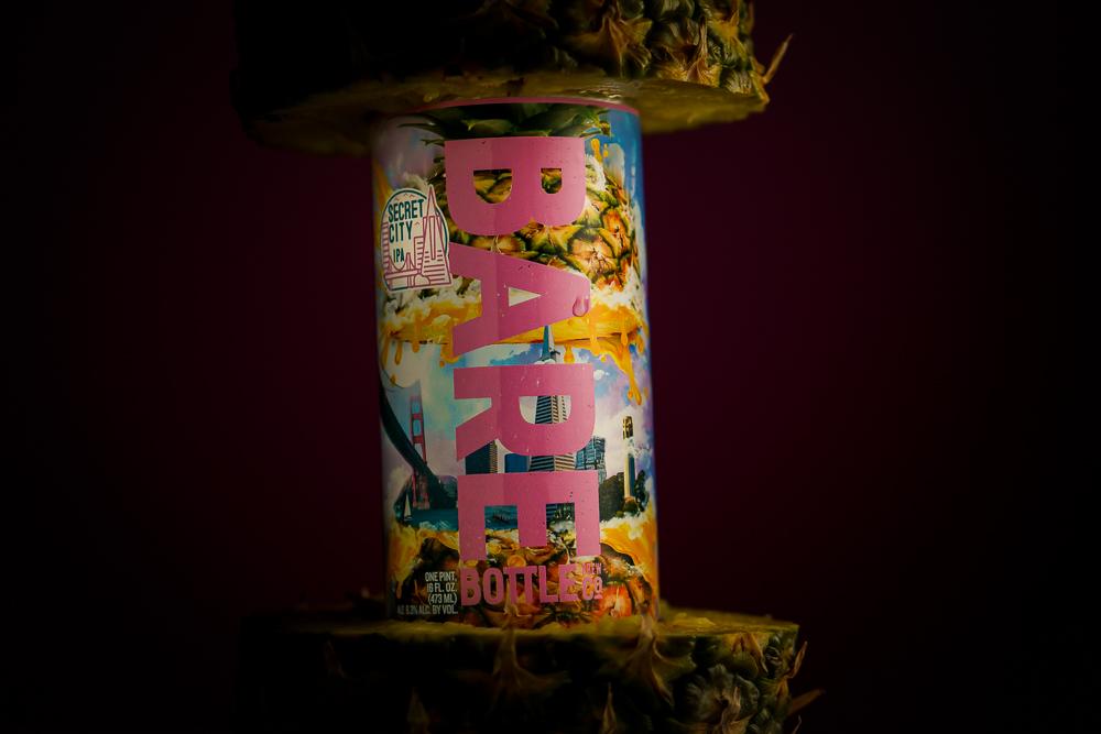 Secret City IPA - BareBottle Brewing