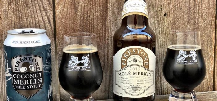Firestone Walker Brewing | Coconut Merlin and Molé Merkin Milk Stout