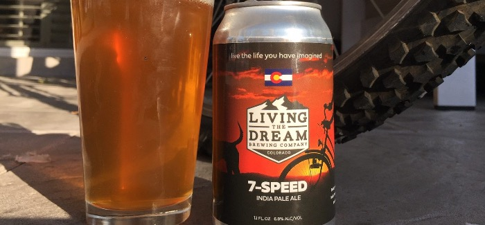 Living The Dream Brewing Company   7-Speed IPA