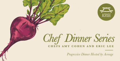 Stem Ciders Chef Dinner Series