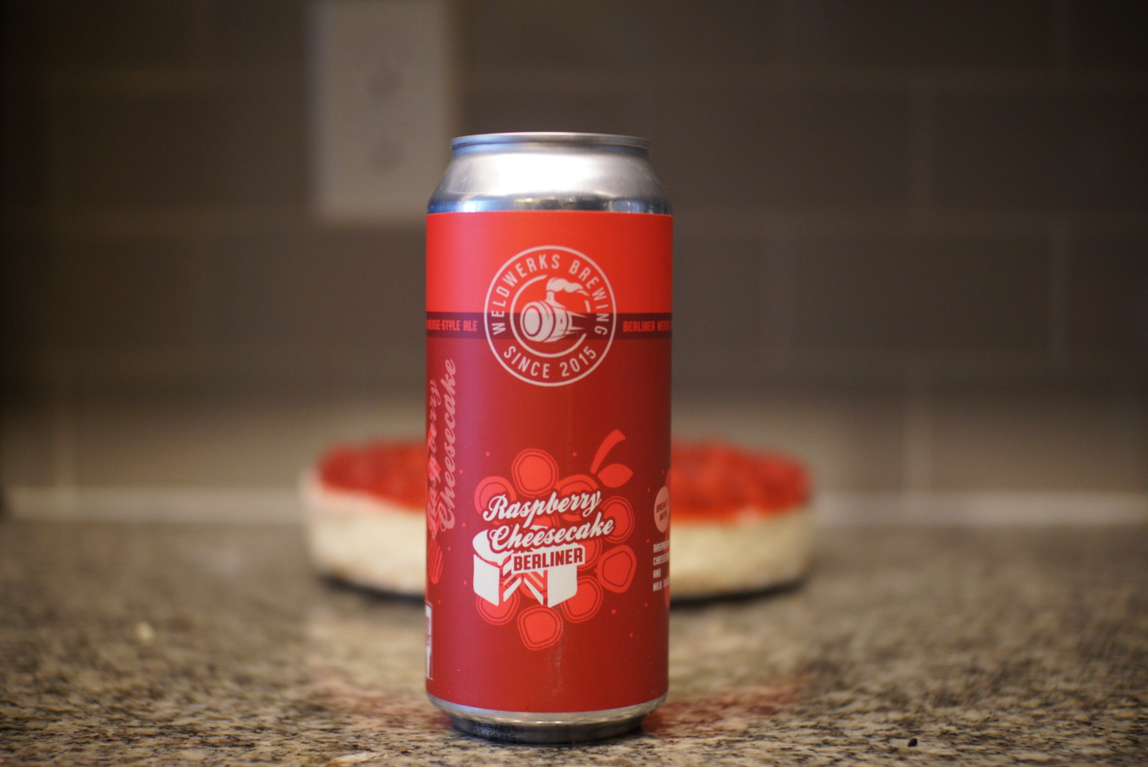 WeldWerks Raspberry Cheesecake Berliner