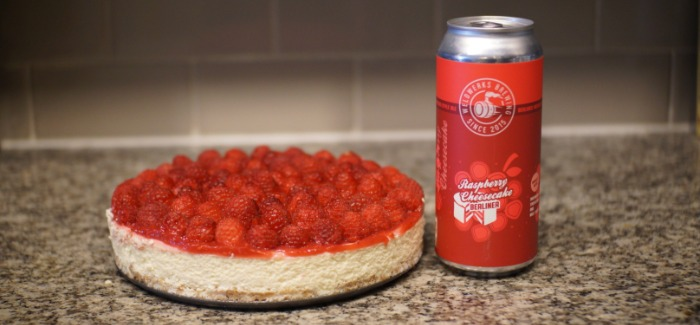 Cooking with Beer | Raspberry Cheesecake with WeldWerks Brewing's Raspberry Cheesecake Berliner