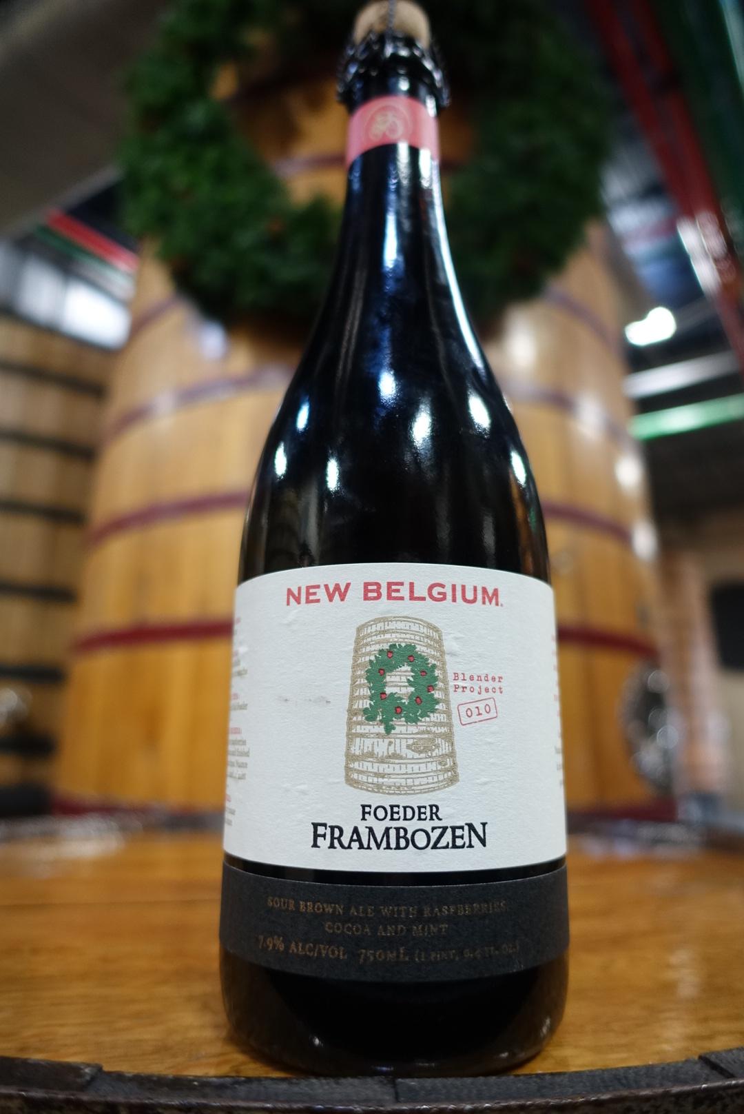 New Belgium Brewing Foeder Frambozen