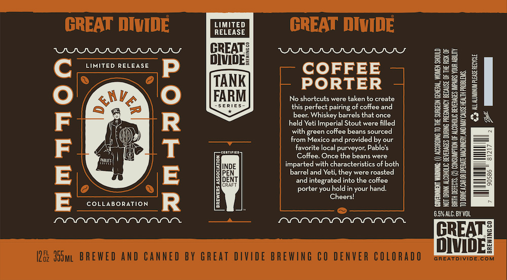 Great Divide Coffee Porter