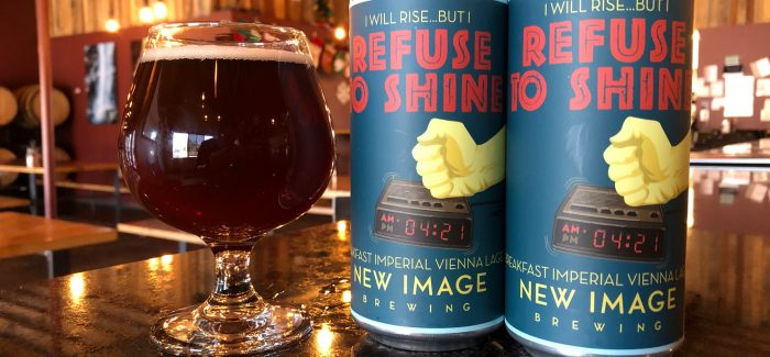 New Image Brewing   Refuse to Shine Imperial Vienna Lager