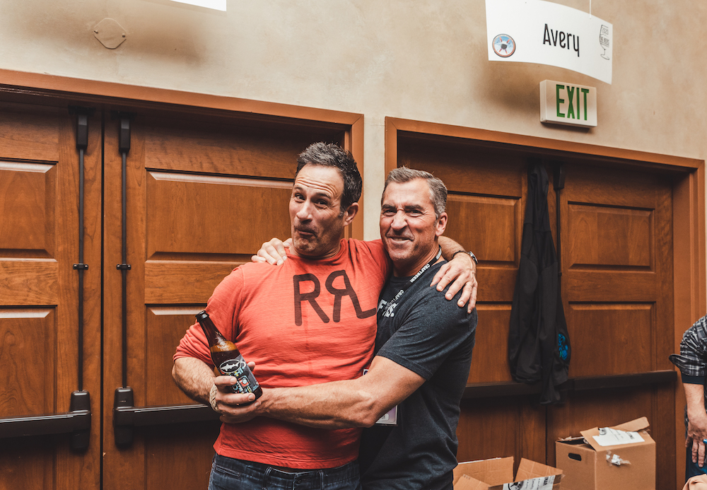 Sam Calagione and Adam Avery Goofy Big Beers