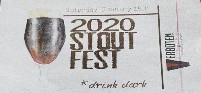 Event Recap | Verboten Brewing's 2020 Stout Fest