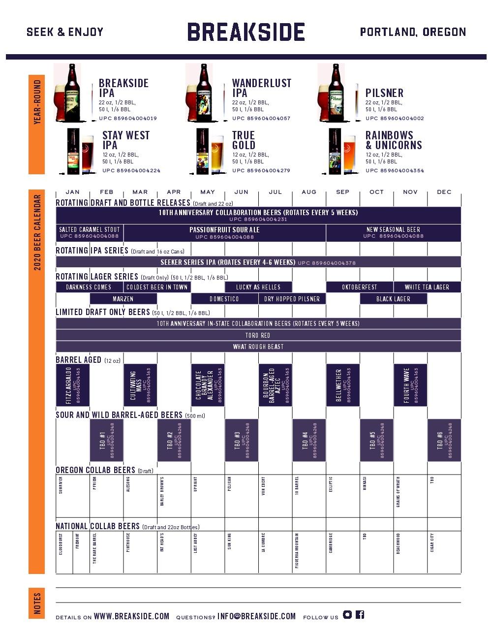 2020 PorchDrinking Beer Release Calendar Roundup
