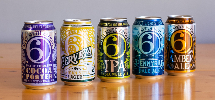 5 (Okay, 6) Questions with West Sixth Brewing's Kelly Hieronymus & Ben Self