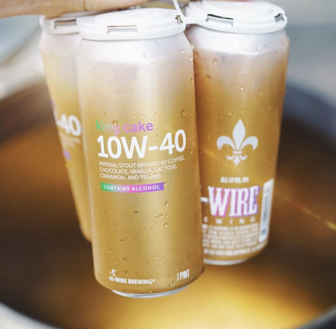 Hi-Wire Brewing King Cake 10W-40