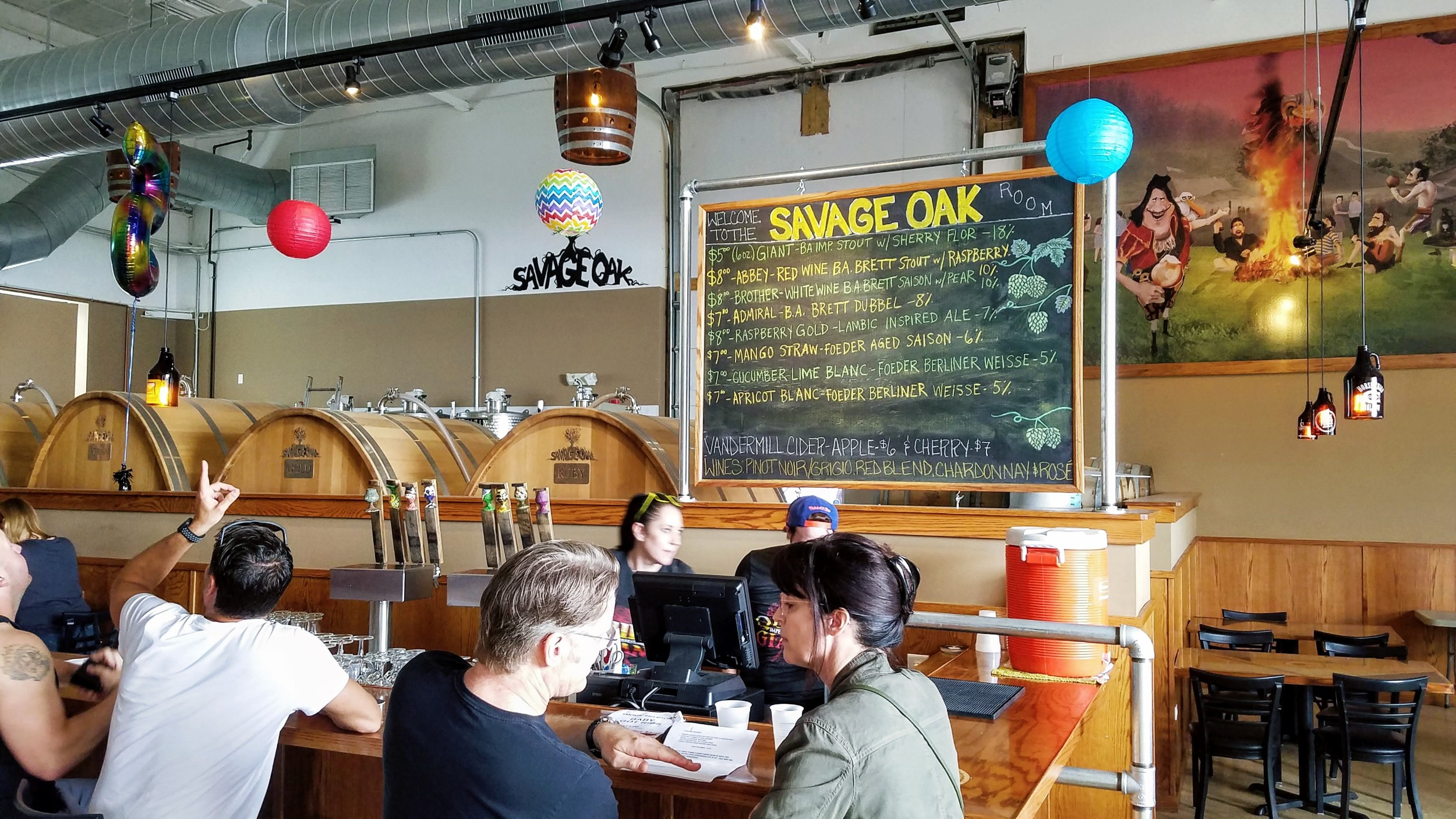 Imperial Oak Brewing Savage Oak Room