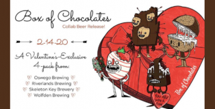 Box of Chocolates Beer Collaboration