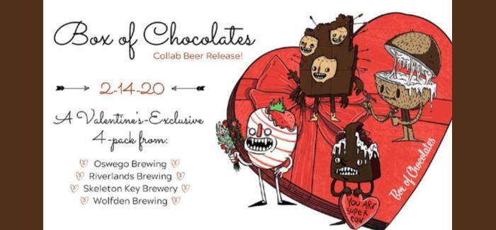 Box of Chocolates Beer Collaboration