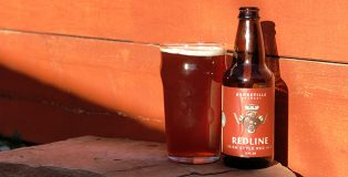 Redline, an Irish-style Red Ale from Utah's Bonneville Brewery. Photo credit: Tim Haran