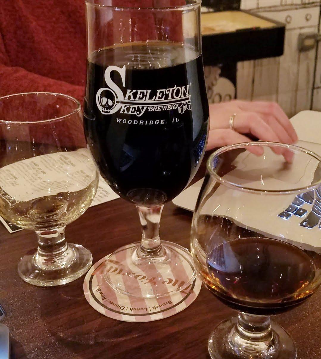 Box of Chocolates Beer Collaboration - Skeleton Key Brewing Hazelnut Praline