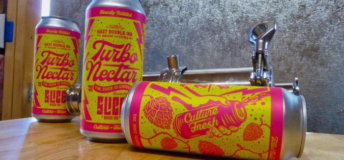 Slice Beer Company   Turbo Nectar Hazy Double IPA