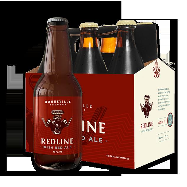 Bonneville Brewery Redline Irish Red Ale