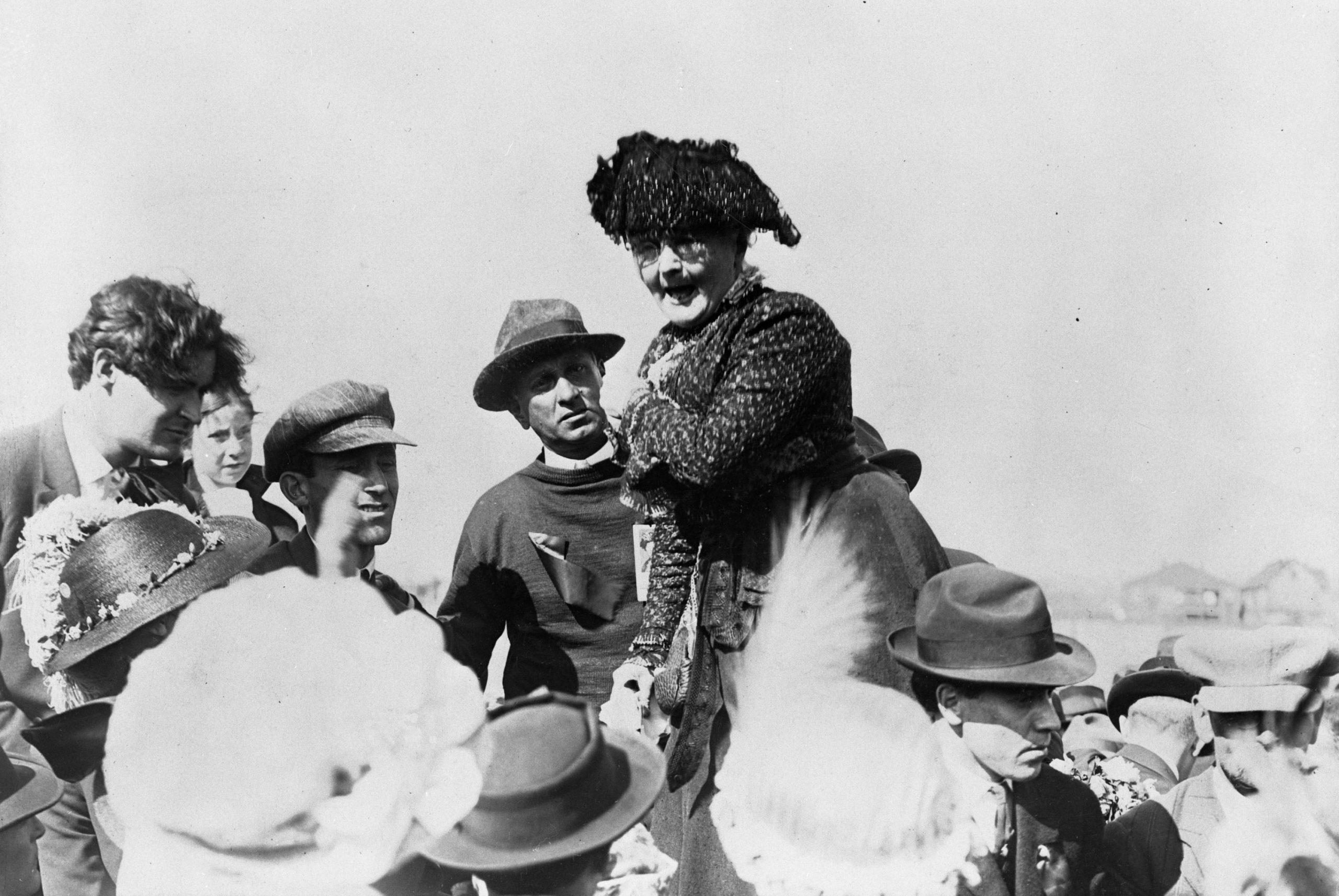 Mother Jones -- -- Finding Inspiration in Irish Women