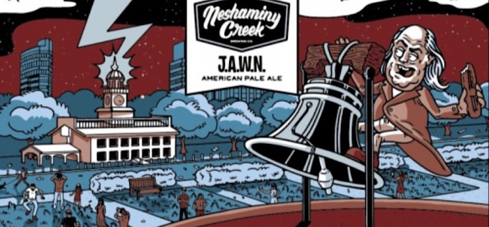 Neshaminy Creek Brewing Company | JAWN Pale Ale