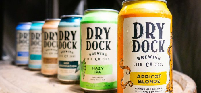 Dry Dock Brewing Company Unveils New Branding & Packaging Designs