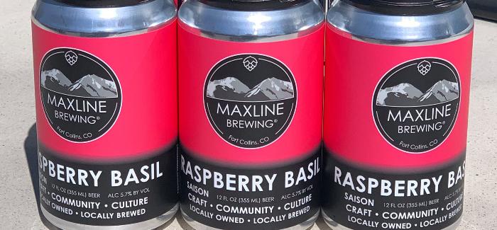 Maxline Brewing | Raspberry Basil Saison