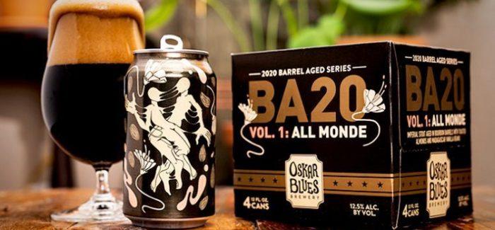 Oskar Blues Brewery Announces New 2020 Barrel-Aged Series