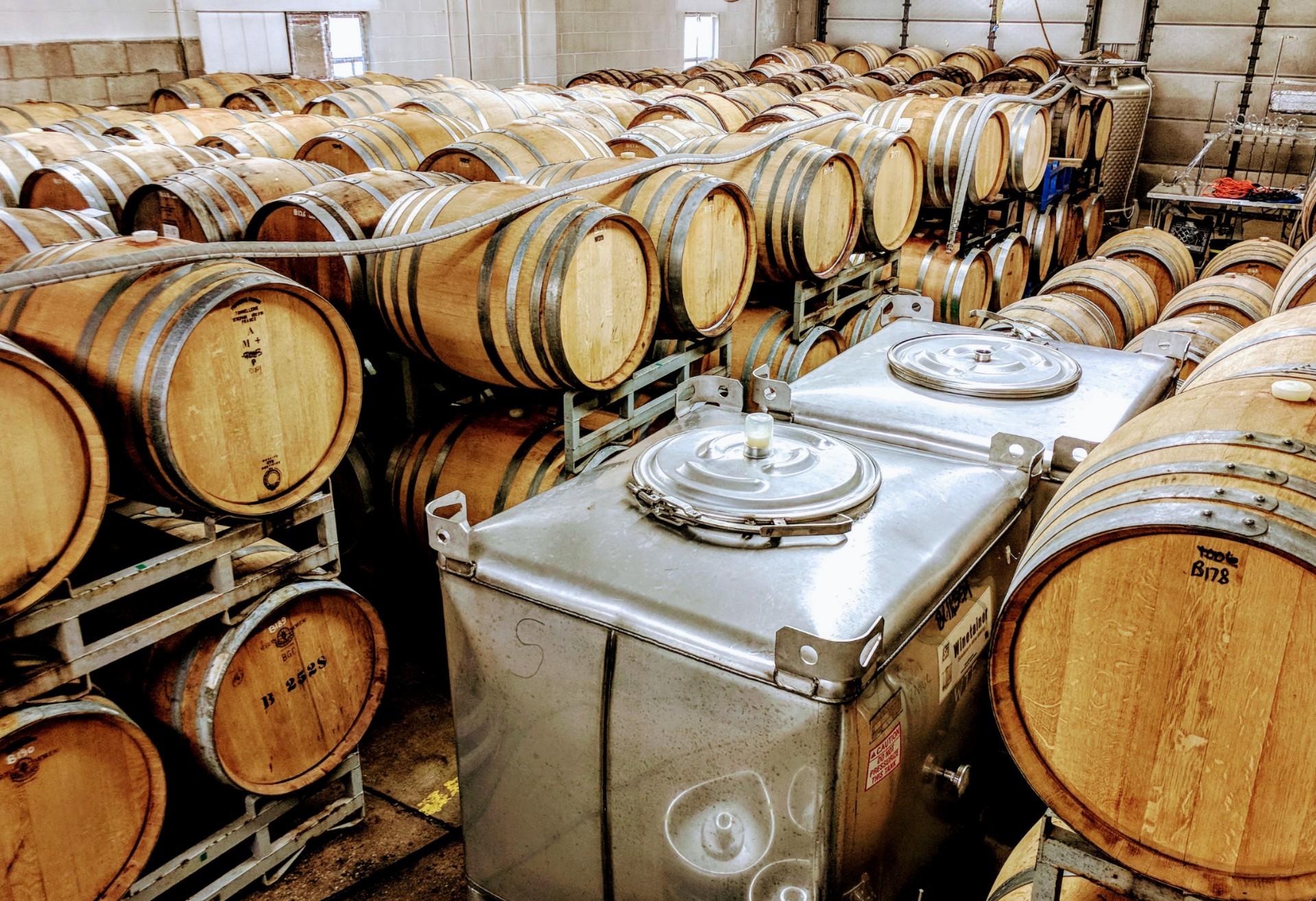 Taxman Brewing Barrel-Aging Program