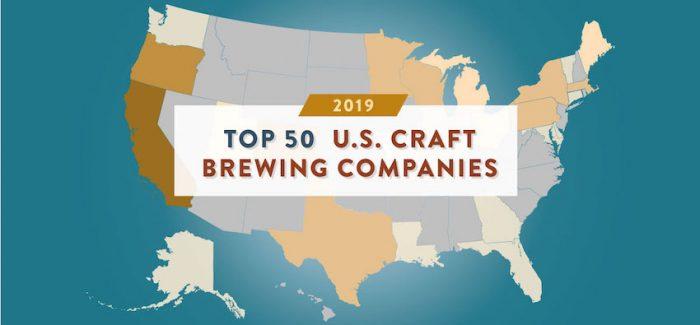 Breaking Down America's Top 50 Largest Breweries By Volume in 2019