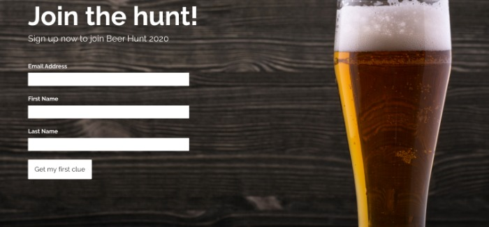 Beer Hunt 2020 Email List