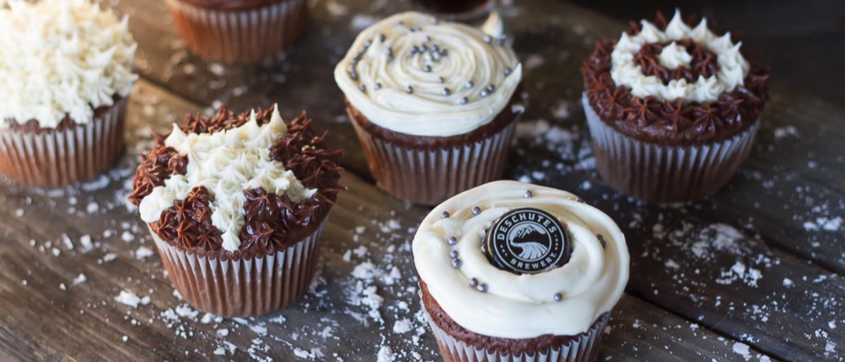 Deschutes Easy Porter Cupcakes