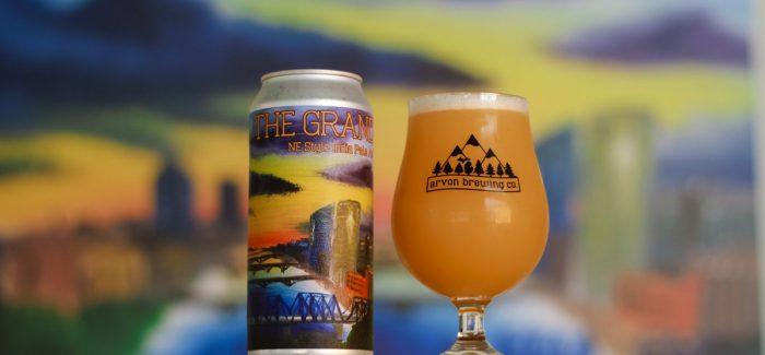 Arvon Brewing Co.   The Grand NE Style IPA