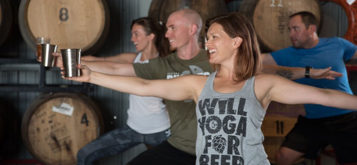 Drink Beer, Do Yoga, Support Local