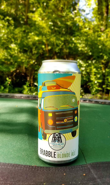 lawnmower beers - Brabble Blonde Ale