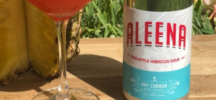 Bay Cannon Beer Co. | Aleena Pineapple Hibiscus Sour