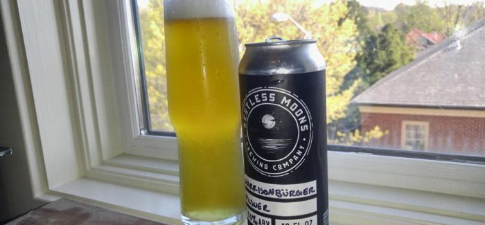 Restless Moons Brewing Company | Harrisonbürger Pilsner