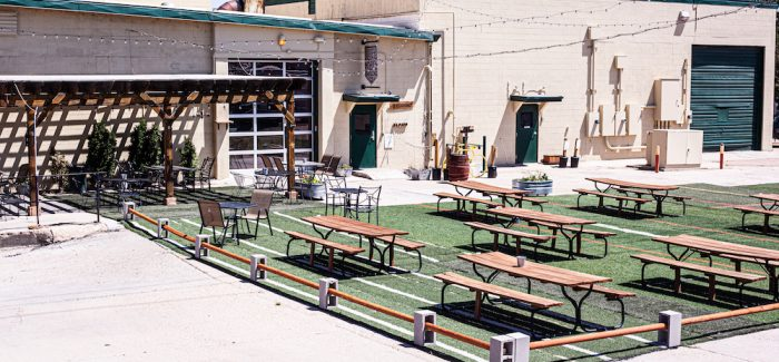 Wiley Roots Brewing Outdoor Patio