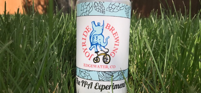 Joyride Brewing | IPA Experiment #12
