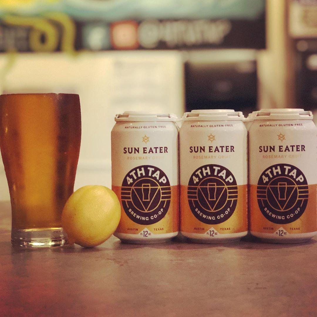 Lawnmower beers - Sun Eater