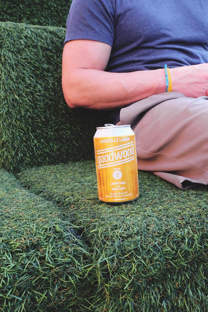 Lawnmower beers - Louisville Lager