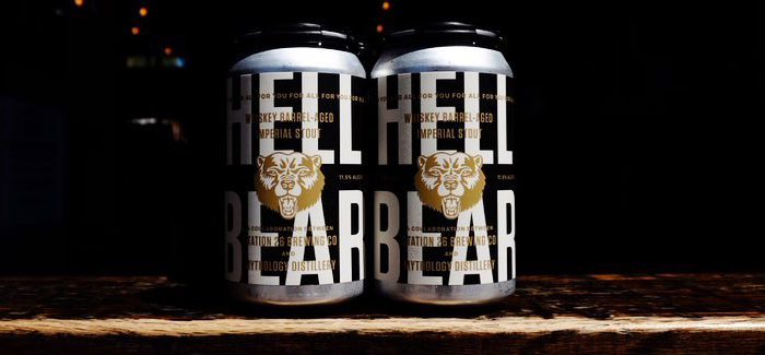 Station 26 Brewing Co. | Hell Bear Whiskey Barrel-Aged Imperial Stout