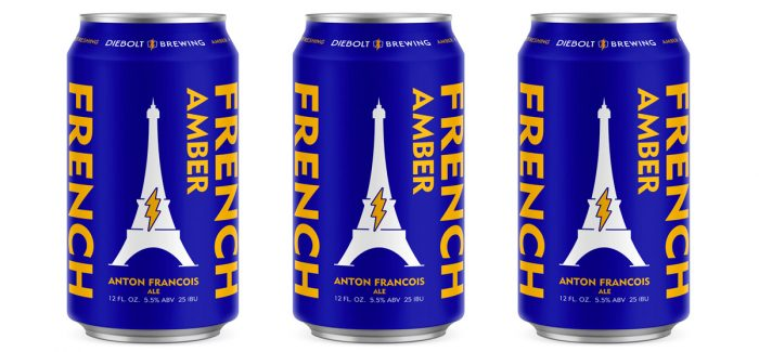 Diebolt Brewing Anton Francois French Amber Ale