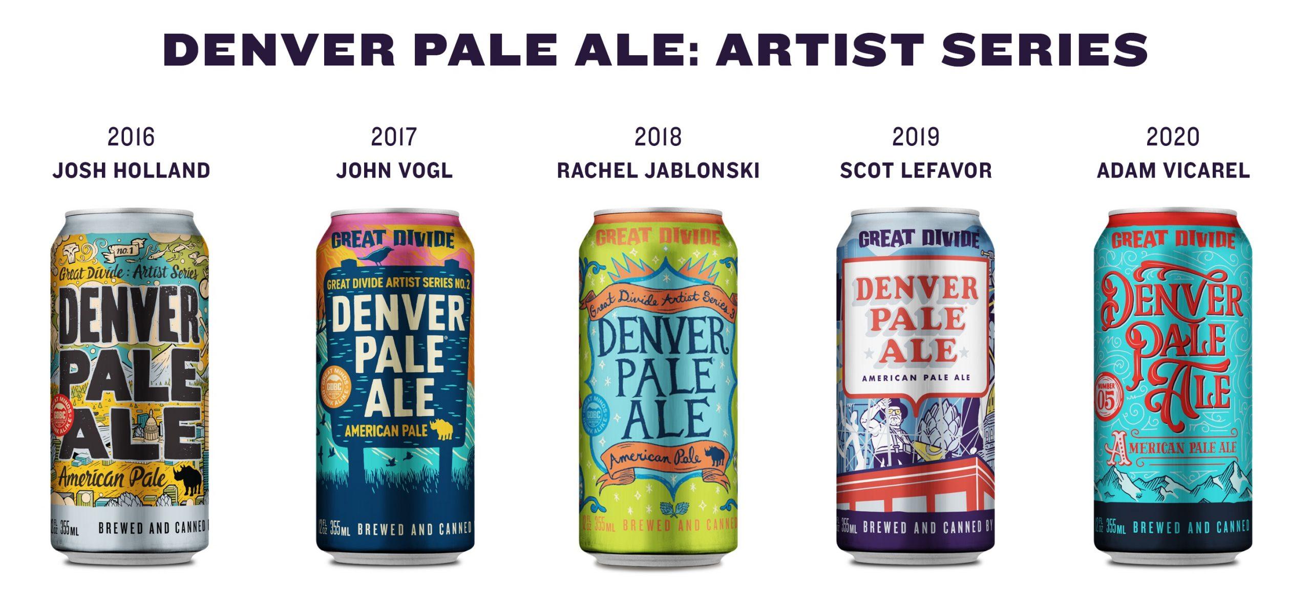 Denver Pale Ale: Artist Series Adam Vicarel