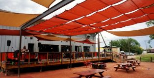 Sanitas Brewing Outdoor Patio