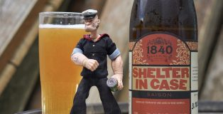 1840 Brewing Co.   Shelter in Case (Wine Barrel Aged Saison)